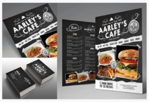 Promo packs: logotype, businesscard and flyer in 1 order.